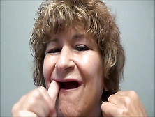 Toothless Babe Kinky Talk On Swallowing Dong