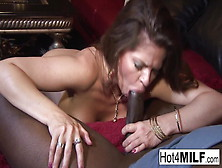 Hot Cougar Gets Some Big Black Cock