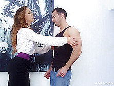 Cherie Deville - Anal Landlord With Perfect Ass Fucking