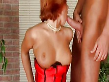 Redheaded Anal Threesome From Hungary