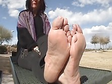 Cougar Foot Worship And Tickling