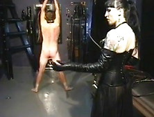 Mistress Sabrina Belladonna-In Leather Whips