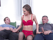 Alluring Chick Tina Kay Wants To Be Fucked By Two Lovers