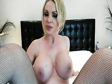 Camsoda - Nikki Benz With Big Tits Pink Dildo Masturbation