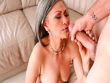 videos Granny cumshots tube handjob