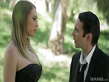 Fake Tittied Babe Kagney Linn Karter Is Making Love On The First