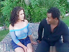 Exotic Pornstar In Amazing Outdoor,  Brunette Sex Scene