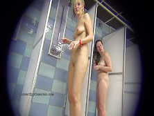 Spy Camera Capture Sexy Amateur Gals In Shower