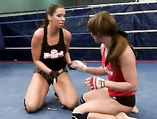 Eliska Cross And Lisa Sparkle Have Some Sexy Fight