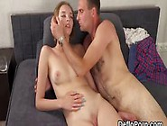 Fervid Girl Gapes Soft Twat And Gets Deflowered