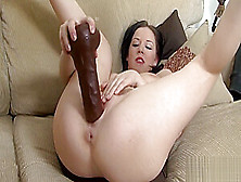Unusual Centerfold Gapes Her Vulva And Loves Hardcore Sex
