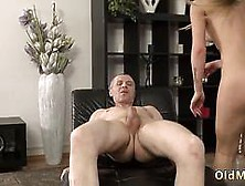 Old Hairy Pussy Hd But Her Older Stud So Fabulous And Splendid Was Lying On The Sofa