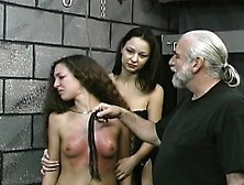 Hawt Scenes Of Rough Bondage On Busty Babe's Cum-Hole
