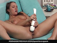 Quest For Orgasm - Sexy Blue Angel Solo Pussy Play