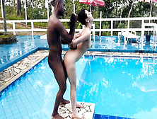 Teenage Fucked By Black Dick Near The Pool
