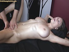 Teen blonde dizziness caused by an orgasm young