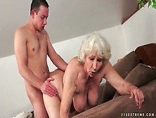 Granny tits tube
