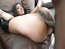 Incredible Fucking By Ebony Babe And Huge Cock Guy
