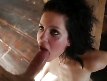 Raunchy Bobbi Starr Gets A Mouth Full Off Hard Cock