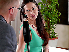 Martina Gold Cannot Resist A Good-Looking Fellow's Big Dick