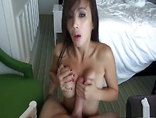 Oriental Slut With Big Round Tits Gets Her Ass Stuffed With Hard