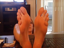 Alisha Adams Feet Long Toes