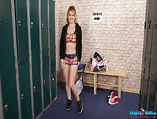 Wench Brook Little Gets Naked And Dances In The Locker Room