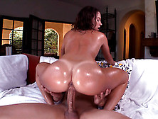 Lily Love Uses Her Big Booty To Shake On Cock While Riding It Li