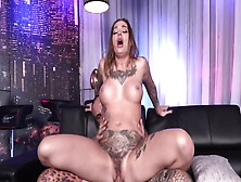 Milf Kleio Valentien With Big Fake Boobs Gets A Hard Fuck And Cum In Her Mouth