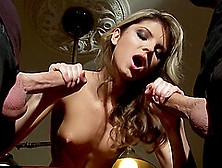One Hard And Strong Penis Is Not Enough For Horny Girl Gina Gers