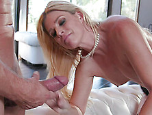 Passionate Blonde India Summer Takes A Friend's Fat Dick In Her