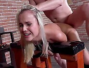 Obedient Teen In Scenes Of Ruthless Bdsm Ass Play