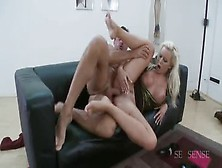 Bonny Experienced Lady Cindy Dollar Is Getting Fucked Deep In Her Asshole