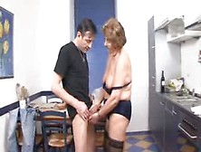 Young German Boss Fucked His Dissatisfied Granny Maid