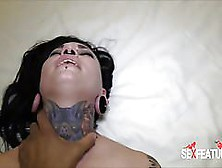 Sex Features - Sexy Tattooed Pierced Babe Hardcore Creampie