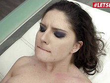 Herlimit - Francesca Di Caprio Brunette Russian Babe Hard-Core Anal Drilling With A Massive Penis - Letsdoeit
