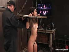 Incredible Leah Acting In Amazing Bdsm Porn