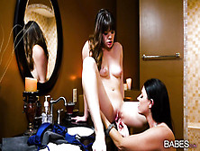 Tireless Alison Rey And India Summer Make Wild Lesbian Sex
