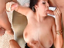 Snazzy Busty Student Gianna Michaels Is Getting Moneyshot